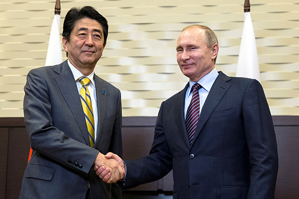 普京明天就要访日了 日本人却有点失落