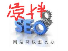 深圳seo优化大帅谈常见网站被降权的各种原因