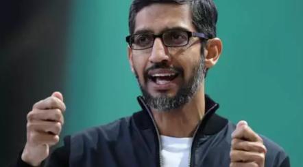 谷歌首席执行官桑达尔·皮查伊(Sundar Pichai)