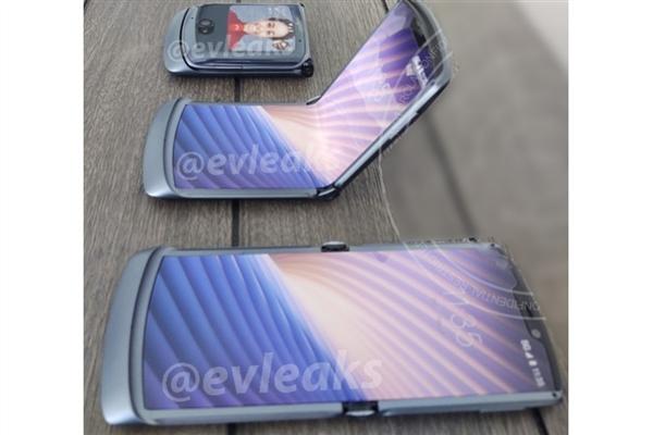真机外形曝光 摩托第二代翻盖折叠屏手机下月发布