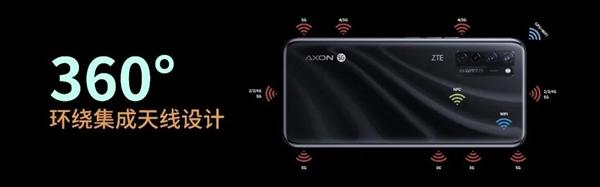 屏下摄像头还有奇门绝技!中兴AXON A20 5G搭载5G超级天线2.0