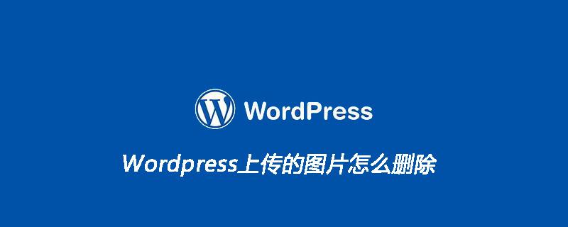 Wordpress上传的图片怎么删除