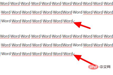 word中每个段落的段落标记在哪里