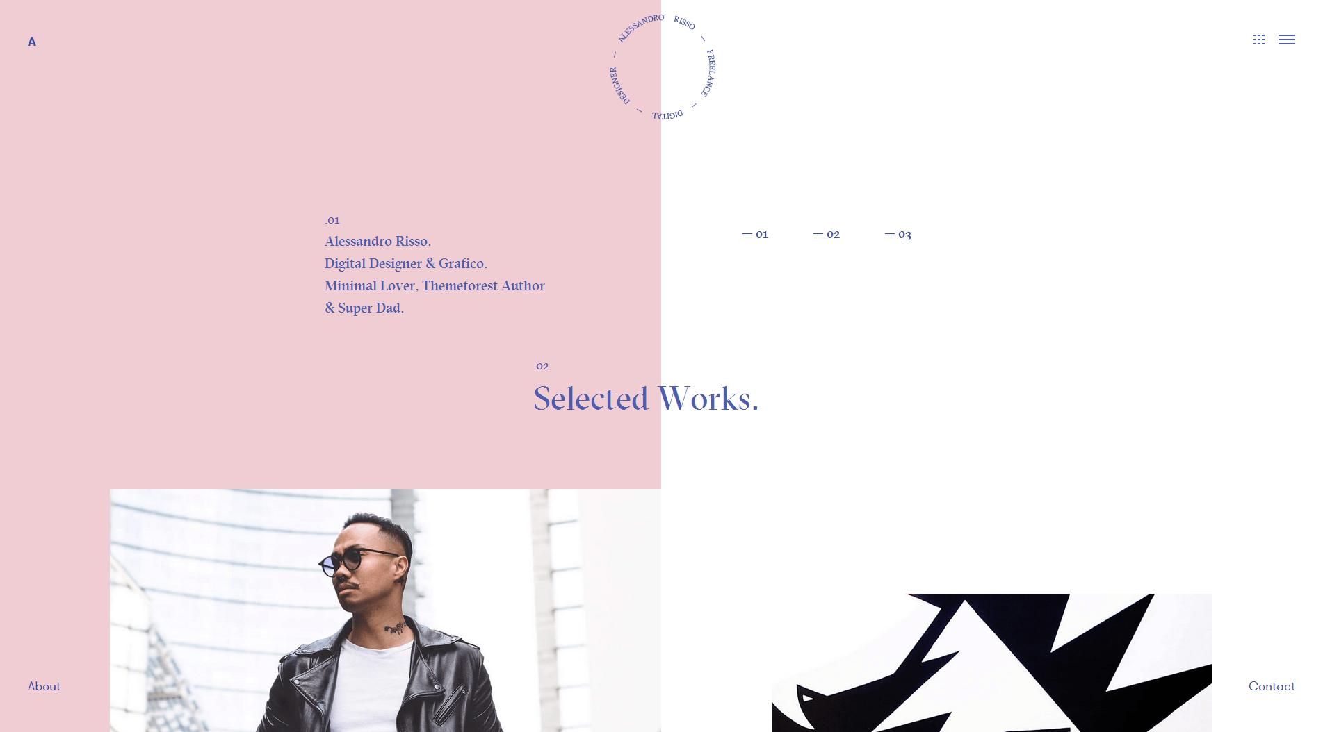 个人网页设计欣赏(优秀设计案例)