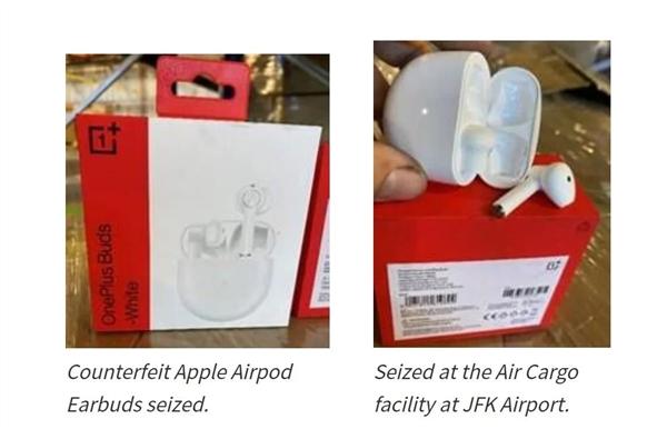 以假冒AirPods之名查扣270万一加耳机 美国海关回应:我们没错