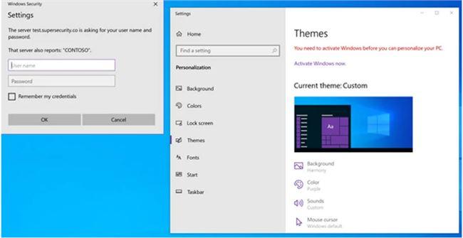 当心!Windows 10主题可以被滥用来窃取用户密码