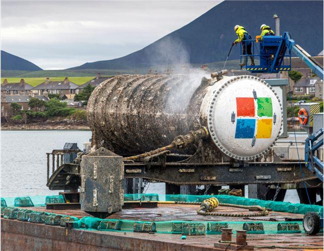 海洋中的云服务!微软验证了水下数据中心的可行性
