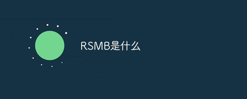 RSMB是什么