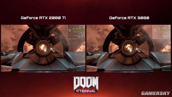 《毁灭战士:永恒》RTX 3080演示 4K全特效帧数上百