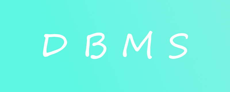 DBMS的是什么意思