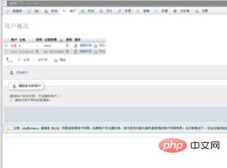 如何使用phpmyadmin修改用户名和密码