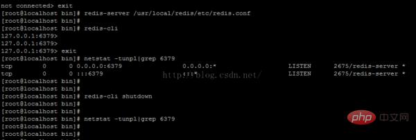 linux如何启动redis