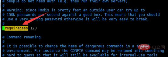 Redis怎么设置密码