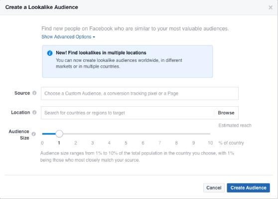 Facebook广告扩量秘籍之如何创建有效的类似受众