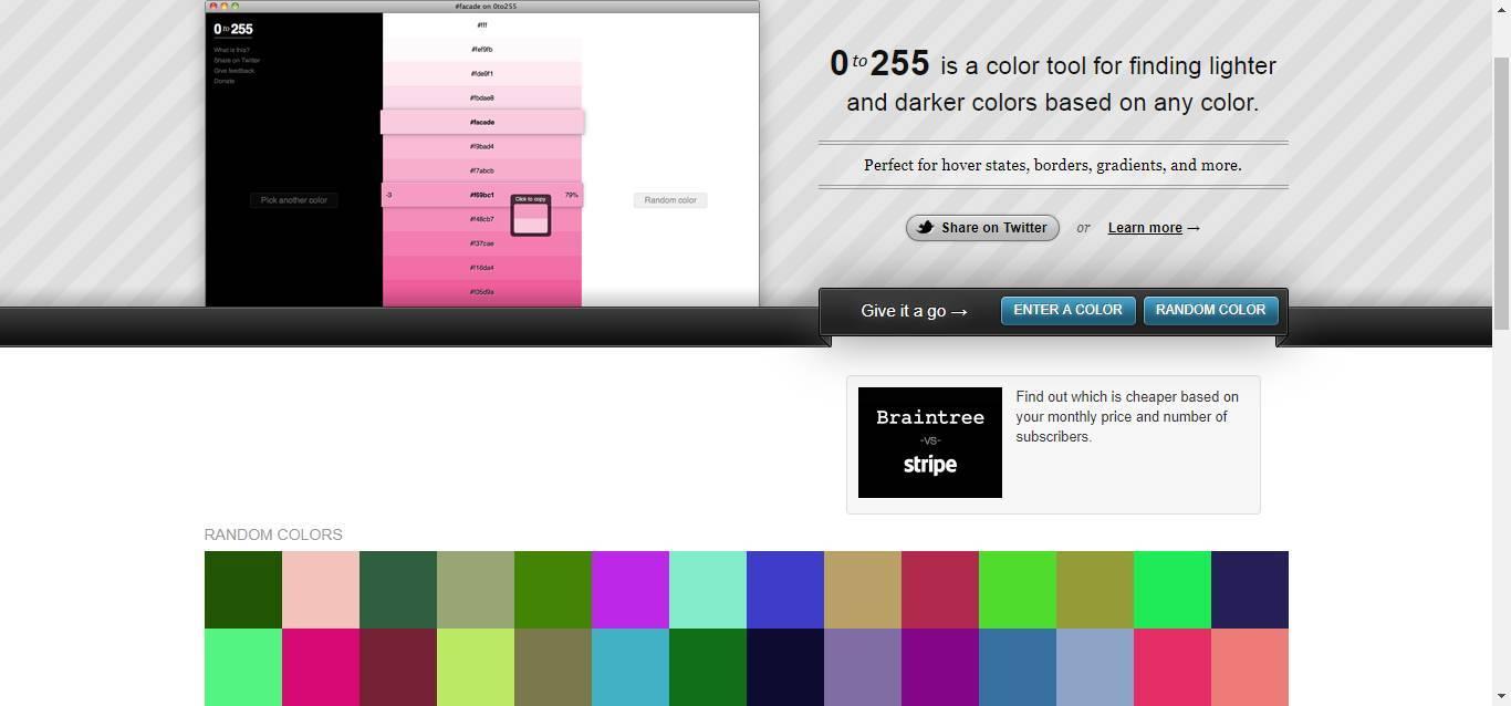 收藏 | 12个超好用的配色网站
