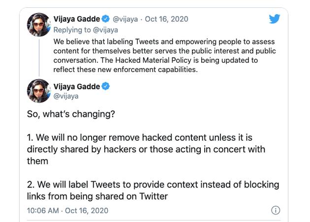 Twitter计划更改平台上有关黑客破解内容的政策