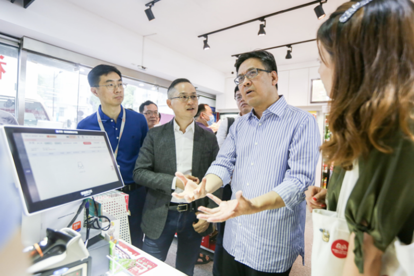 响应商务部号召 30万90后通过零售通数字化改造传统小店