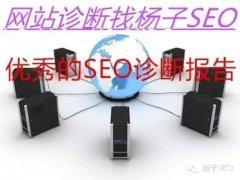 seo诊断报告(seo诊断的网络问题)