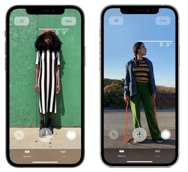 iPhone 12 Pro机型还能这样用:用来量身高