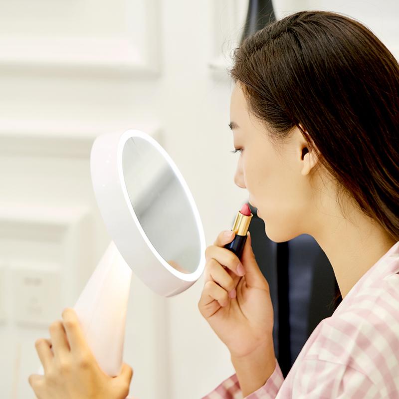 化妆镜带灯光的哪个品牌好(苏宁极物LED化妆镜体验分享)