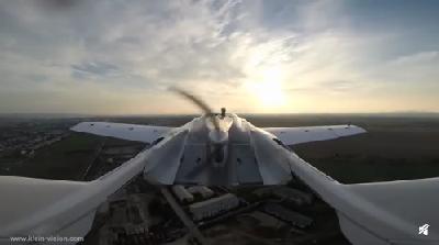 四轮可变形+两座!全球首款可变飞行汽车完成空中测试