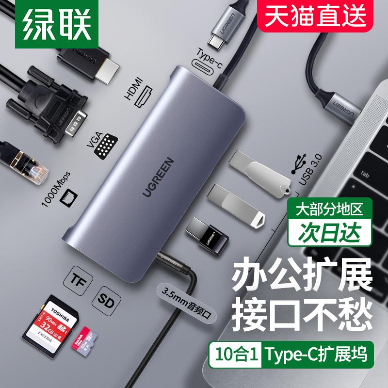 绿联USB-C多功能转换器(绿联转换器使用体验及报价)