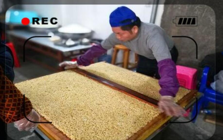 家庭制作米花糖