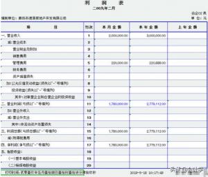 新会计报表格式(新企业财务报表格式解读)