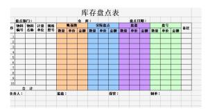 每月库存盘点表怎么做汇总(仓库进销存明细账操作)