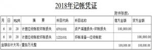 应收账款坏帐准备计提的规定(2021年应收账款计提坏账准备)