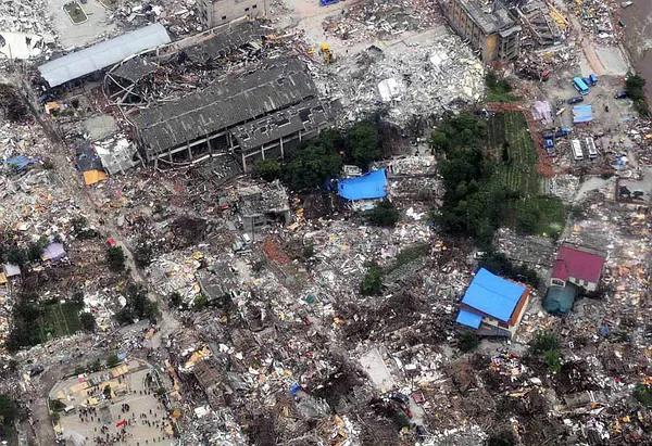 近代以来我国排名前十的大地震