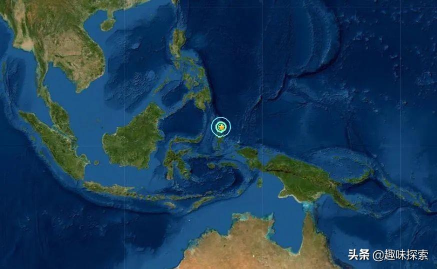 又出一次6.7级地震,震中在东南亚国家,是地球变活跃了?