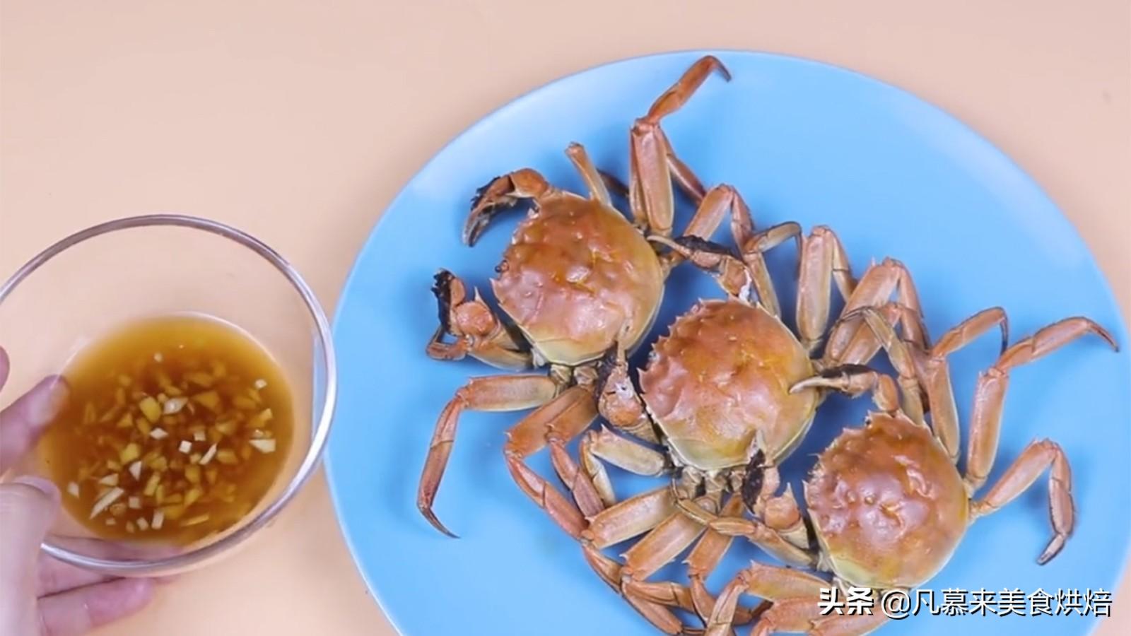 手把手教你螃蟹的正确吃法,步骤详细,好多部位以前你都吃错了