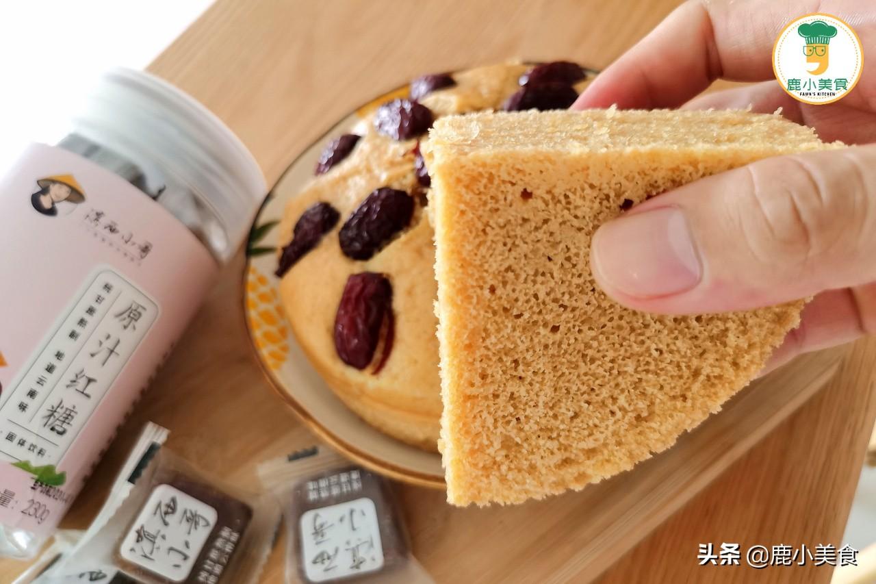 零失败的红糖发糕配方,掌握4个要点,Q弹有嚼劲,不塌陷不回缩