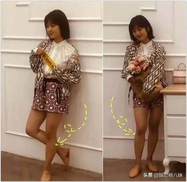 同穿抹胸裙,169的童谣输163的毛晓彤,女星身材比例很重要