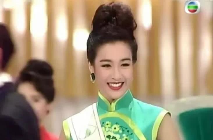 """看到钟丽缇当初竞选""""港姐""""的照片,才明白为啥张伦硕坚持要娶她"""
