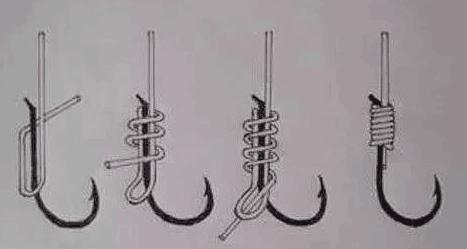 分享几种绑钩方法,学会就可自己绑子线了