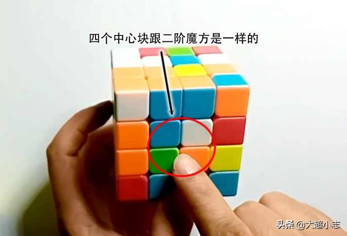4x4四阶魔方一看就懂,超简单入门图文教程1:基本知识和操作