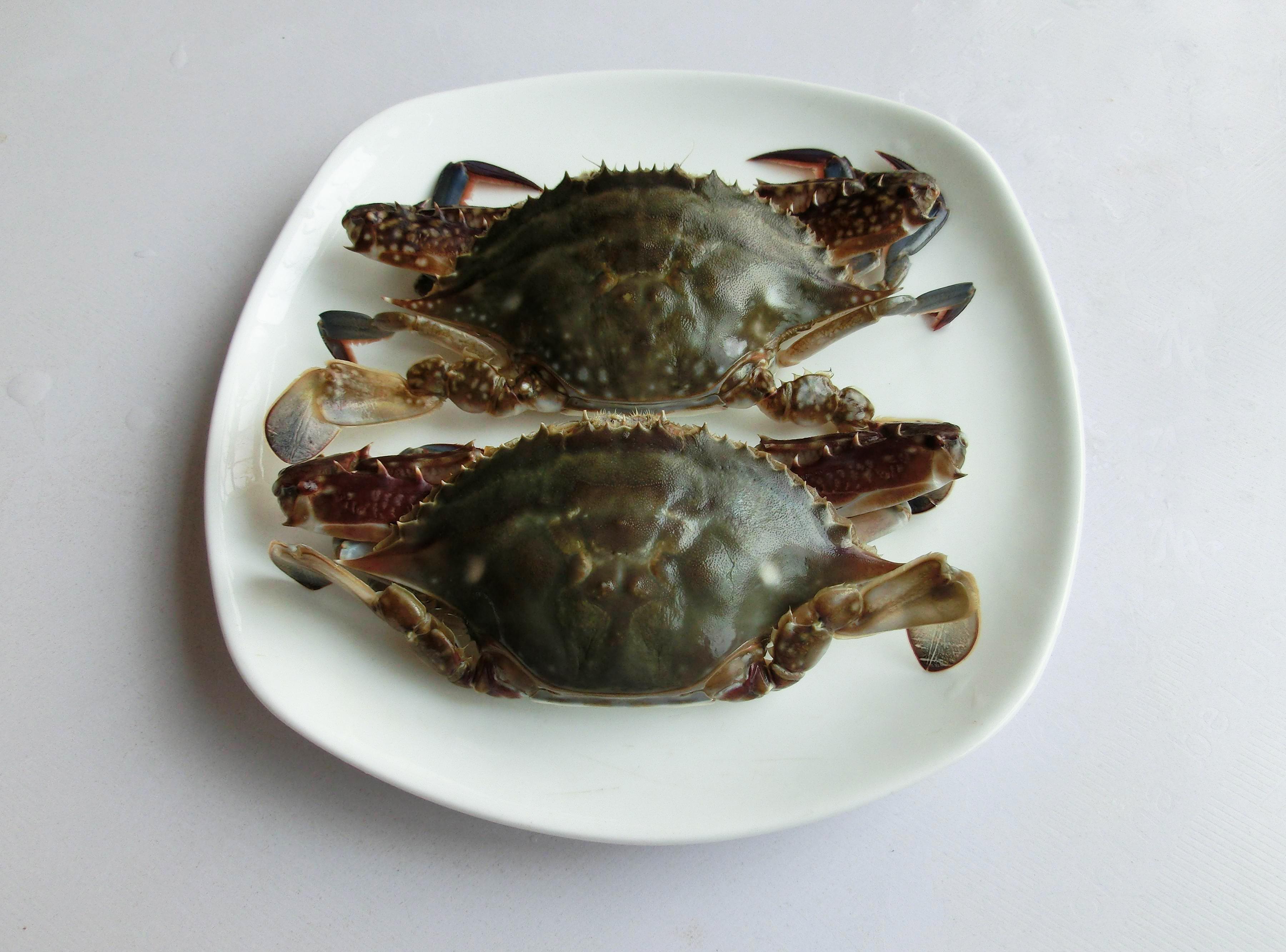 清蒸梭子蟹要蒸多长时间?老青岛人教你这样蒸,不流黄,最入味儿
