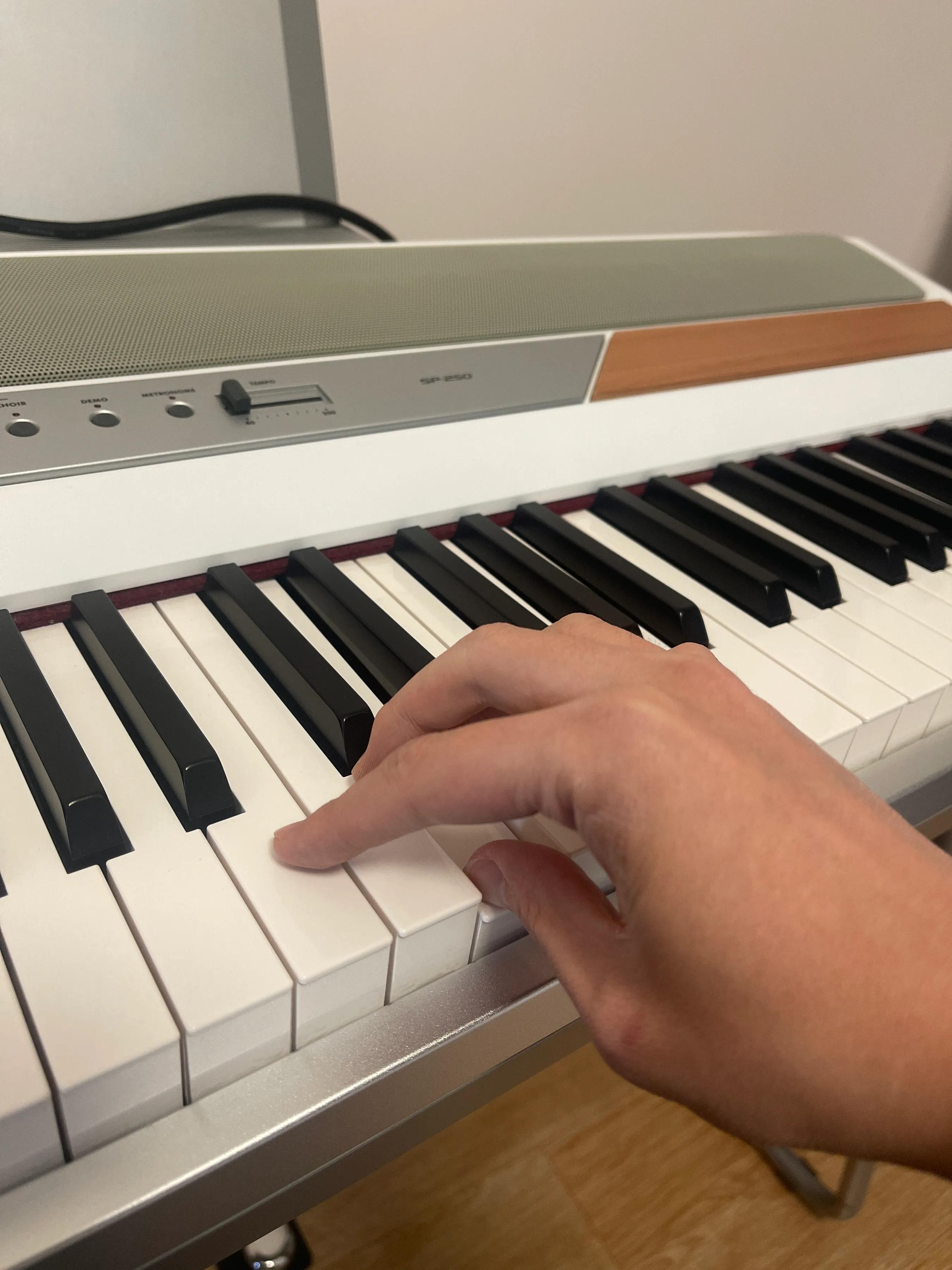 电子琴弹奏中的指法技巧